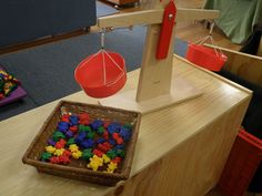 Weighing scales - Irresistible Ideas for play based learning » Blog Archive » kallista kindergarten