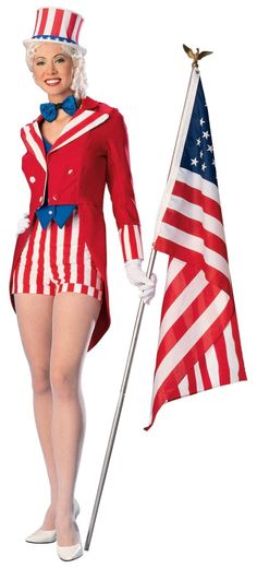 Lady Uncle Sam Costume ... call her Auntie Samantha...
