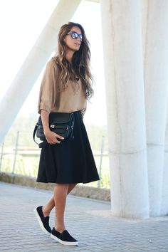 skirt slip on