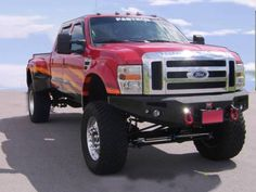 pictures of jacked up trucks | Jacked Up 2008 Ford F-450 4x4 SEMA Show Truck Additional Pictures