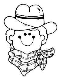 Resultado de imagen para dibujos de vaqueros para colorear