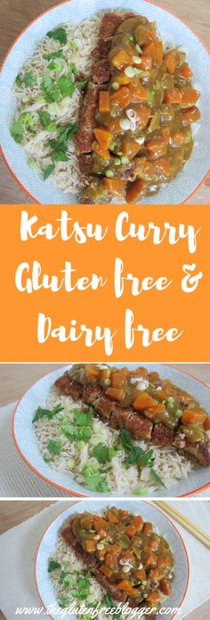 Gluten free katsu curry recipe - gluten free Asian food - dairy free - www.theglutenfreeblogger.com