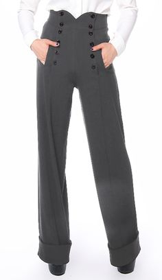 1940s Style Pants - Amber Middaugh 2015 Standard Size Retail $43.95 Plus Size…