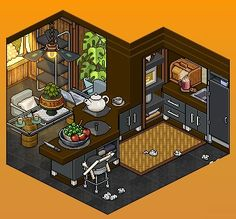 #Habbo #Pixel #Virtual Minecraft Pixel Art, Minecraft Ideas, Minecraft Buildings, Habbo Hotel, Memes Arte, Isometric Art, Pixel Art Games, Small Canvas Art, Cute House