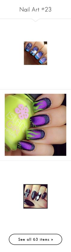 """""""Nail Art #23"""" by sammyjohnson ❤ liked on Polyvore featuring home, home decor, log home decor, nails, doctor who, makeup, nail polish, beauty products, nail care and nail treatments"""