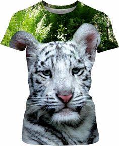 White Tiger Women T-Shirt#erikakaisersot #rageon #shirts