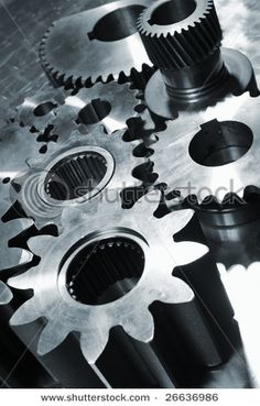 Steel Blue Gears Cogs Against Titanium Stock Photo (Edit Now) 26636986 Mechanical Art, Mechanical Engineering, Titanium Blue, Gear Wheels, Collagraph, Old Tools, Cogs, Wall Patterns, Macro Photography