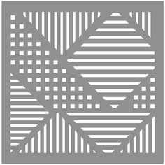Fabscraps 8 x 8 Grid Stencil - DS 039 Quilting Stencils, Stencil Patterns, Stencil Art, Stencil Designs, Stenciling, Silhouette Fonts, Silhouette Design, Edge Design, Pattern Design