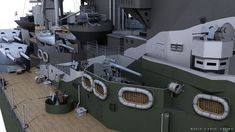 ArtStation - HMS RODNEY, Carlo Cestra Model Warships, Royal Navy, Battleship, Scale Models, Wwii, Glass Art, Artwork, 3d, Ships