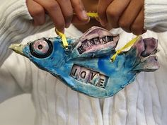 great clay project mixing poetry and visual art