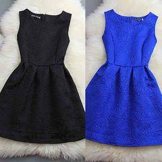 #1426 SLEEVELESS DRESS
