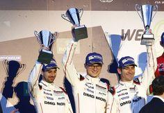Los pilotos Neel Jani, Marc Lieb y Romain Dumas en las 6 Horas de Spa-Francorchamps #919Hybrid