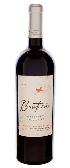 bonterra organic cabernet: probably my favorite wine ever.