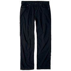 prAna Mens Bronson 34 Inseam Pants Black Size 35 -- You can find out more details at the link of the image.