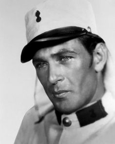 Gary Cooper! My all time favorite male old hollywood actor. Gorgeous! <3