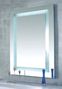 Bathroom: Some Best Illuminated Lighted Bathroom Mirror With Great Types from Lighted Bathroom Mirror for Your Bathroom Best Performance