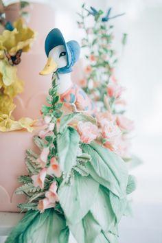 Cake by Alex Narramore, The Mischief Maker | Beatrix Potter's Peter Rabbit Inspired Birthday Party | Natasha Raichel Photography