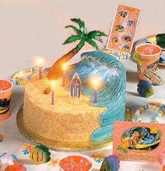 ideas fishing cakes on the sea | shaped seashell tiered cake splash n dash under the sea