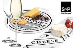 Our classic black and white Fromage serveware will never go out of style!