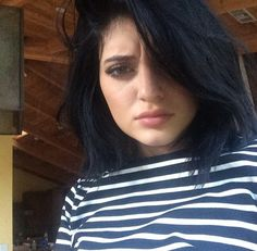 Kylie Jenner, short hair with layers. LOVE <3