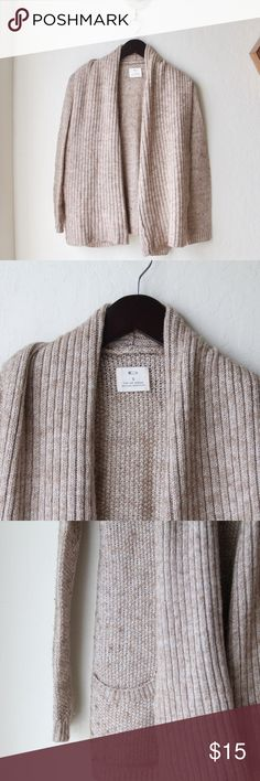 """Pins & Needles Woven Sweater Length is 25"""", arm measures 25"""" from shoulder. Urban Outfitters Sweaters Cardigans"""