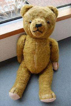 herman teddy bear circa 1930