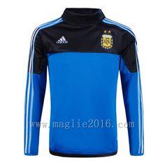 576535b425c26 Adidas Allenamento Giacca Felpa Blu Argentina 2016 €22.9