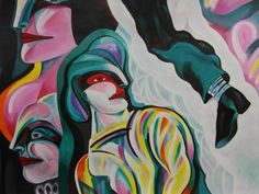#Cuba: José Pérez Olivares regresa a la pintura con 'Cabezas pensantes'  #ARTE #PINTURA