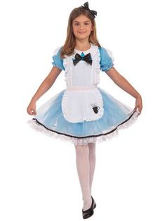 A great Alice Child Costume. A magical selection of Alice in Wonderland Costumes for Birthday, Halloween at PartyBell. Dress Up Day, Fancy Dress Up, Girls Dress Up, Kids Costumes Girls, Girl Costumes, Cartoon Costumes, Baby Costumes, Great Halloween Costumes, Costume Ideas
