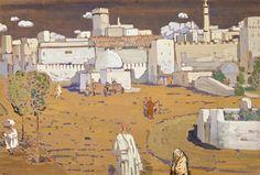 Arabische Stadt,1905. Centre Pompidou,Paris.