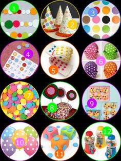 Party Monday: Polka Dots! · Edible Crafts   CraftGossip.com