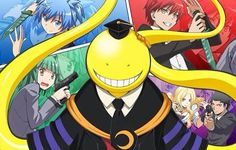 Ansatsu Kyoushitsu, recommended anime