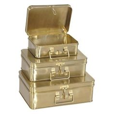 Ren Wil  STA372  Accents  Jill Layton  Home Decor  Boxes and Baskets  ;Brass