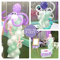 Time to Party's Birthday / - Photo Gallery at Catch My Party Mermaid Party Favors, Mermaid Party Decorations, Mermaid Theme Birthday, Little Mermaid Birthday, Little Mermaid Parties, Birthday Party For Teens, Pirate Birthday, Birthday Party Decorations, Birthday Board