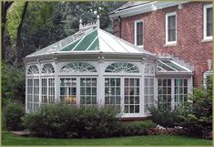 Victorian garden room conservatory by Tanglewood Conservatories, via Flickr