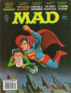 Mad Magazine: Superman