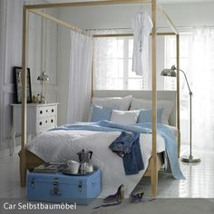 schlafzimmer im maritimen look blau innenr ume und schlafzimmer. Black Bedroom Furniture Sets. Home Design Ideas