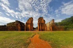 Jesuit Missions of the Guaranis: San Ignacio Mini, Santa Ana, Nuestra Señora de Loreto and Santa Maria Mayor (Argentina), Ruins of Sao Miguel das Missoes (Brazil)