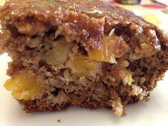 Apricot Banana Bran Squares with Maple Glaze Maple Glaze, Squares, Banana, Desserts, Food, Meal, Bobs, Deserts, Essen
