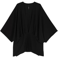 Melissa Mccarthy Seven7 Plus Solid Kimono Coverup ($97) ❤ liked on Polyvore featuring swimwear, cover-ups, black, plus size, kimono beach cover up, cover up swimwear, beach cover up kimono, plus size swim wear and womens plus size swimwear
