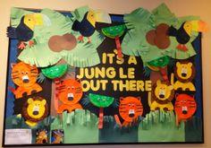 Jungle bulletin board!!