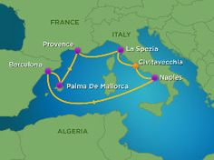 7 Nights Western Mediterranean #Cruise from Rome, Italy on Royal Caribbean Allure of the Seas thru Oct. 2015 - #TLCTravels - #Plan2Travel