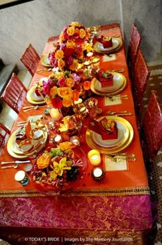Inspiration for Moroccan Wedding Theme