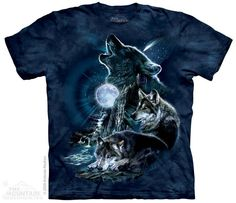 The Mountain - Bark at the Moon T-Shirt, $20.00 (http://shop.themountain.me/bark-at-the-moon-t-shirt/)