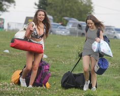 Temperatures could hit around 27C at the V Festival site in Chelmsford today but thunderst...