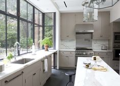 Robinson + Grisaru Architecture PC are the masterminds behind these gorgeous kitchens. The first...