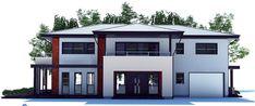 Amplia casa con diseño moderno de 4 dormitorios