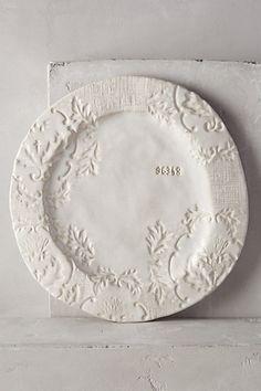 Forest Walk Dinner Plate #anthropologie