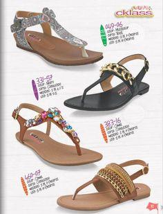 Sandalias de moda de Cklass Primavera Verano 2015. Moda juvenil