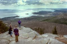 Maine's most beautiful places:Mt. Battie in Camden Hills State Park. Drive up the auto road to views of Camden, Penobscot Bay and surrounding islands. On a clear day, you can see Cadillac Mountain in Arcadia National Park.